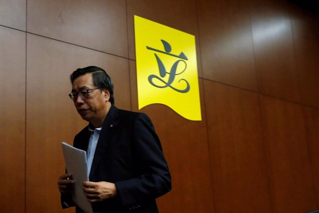 El presidente del Consejo Legislativo de Hong Kong, Andrew Leung.