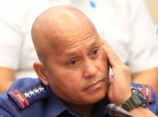 El jefe de la Policía Nacional de Filipinas, Ronald dela Rosa.
