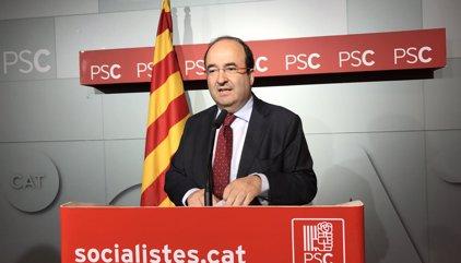 """Miquel Iceta asume que el 'no' a Mariano Rajoy puede causar una """"crisis"""" entre PSC y PSOE"""