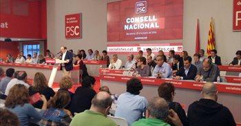 El Consell Nacional del PSC ratifica el 'no' a Rajoy y pide mantener la...