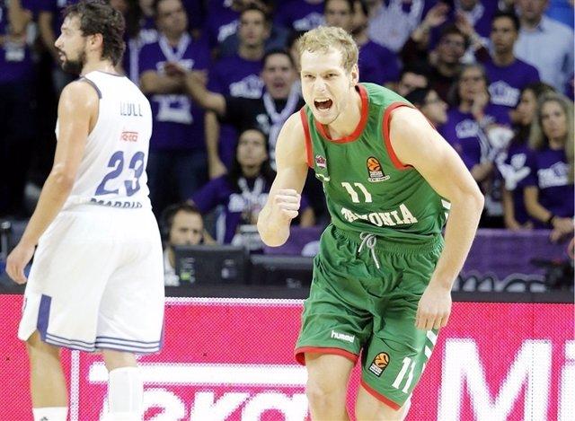 Jaka Blazic, jugador de Baskonia