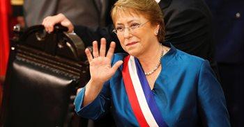 """Bachelet hará """"en breve plazo"""" cambios en la composición del Gobierno de..."""
