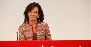 Santander gana un 22,5% menos por operaciones extraordinarias