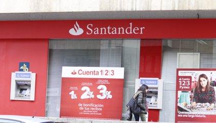 AMP.- Santander guanya 4.606 milions fins al setembre, un 22,5% menys, per operacions extraordinàries