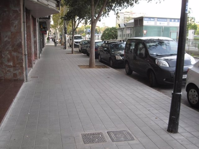 Obras realizadas en la calle Fontsanta de Palma