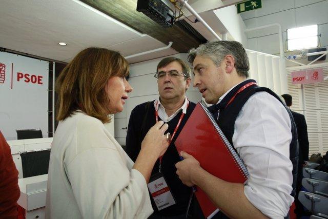 Francina Armengol en el Comité Federal
