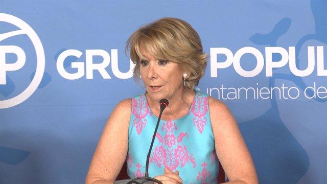 Aguirre dice que Sánchez tiene el poder para imponer condiciones