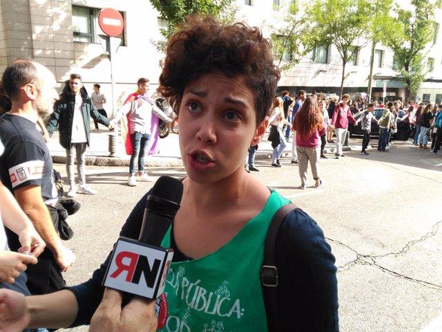 Foto Ana García Sindicato De Estudiantes
