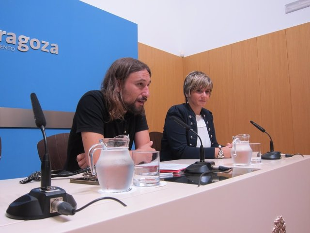 Pablo Híjar y Mayte Andreu