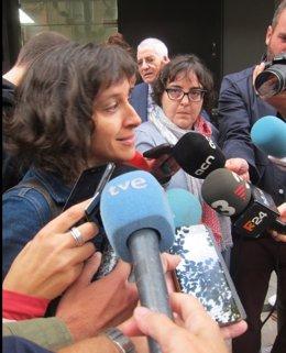 La concejala de ERC en Badalona Agnès Rotger