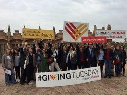 Les grans ONG s'uneixen al #GivingTuesday per promocionar la solidaritat (EUROPA PRESS)