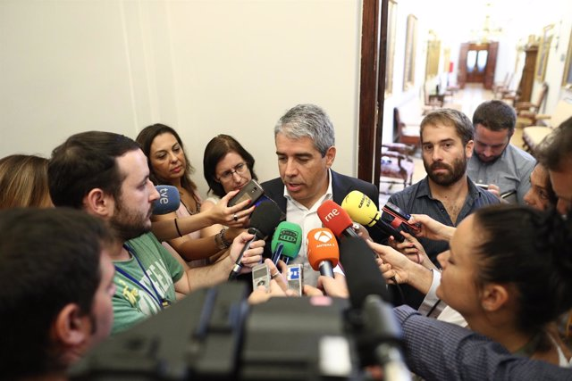 Francesc Homs en el Congreso