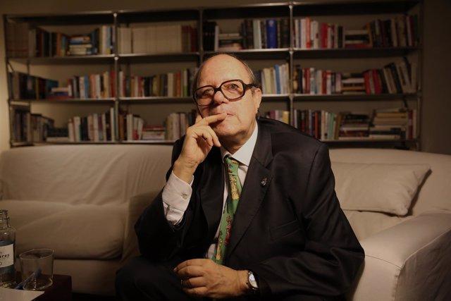 Pere Gimferrer presenta su nuevo libro de poemas inéditos No en mis días