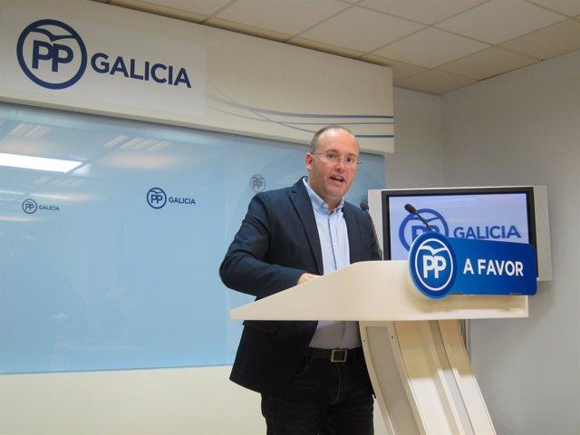 Miguel Tellado, secretario xeral del PPdeG