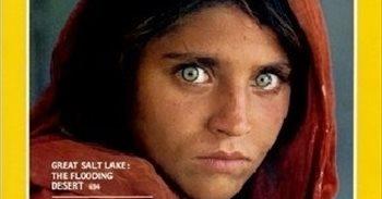 Detenida en Pakistán Sharbat Gula, la 'niña afgana' retratada por...