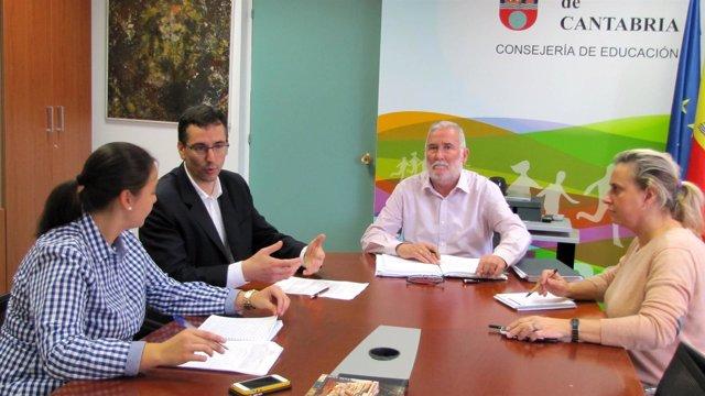Reunión Consejería de Cultura-Ayuntamiento de Laredo