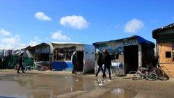 Les autoritats conclouen l'evacuació d'immigrants al camp de Calais (ARCHIVO)
