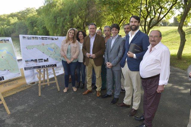 Presentación de los nuevos circuitos deportivos en parques