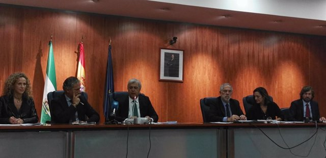Jueces decanos, reunión Málaga 2016