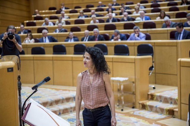 La senadora de Podemos Maribel Mora
