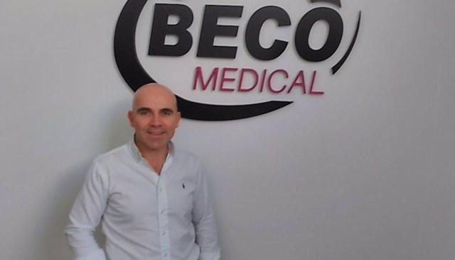 Juan Carlos Herrera, responsable para la zona centro de Beco Medical