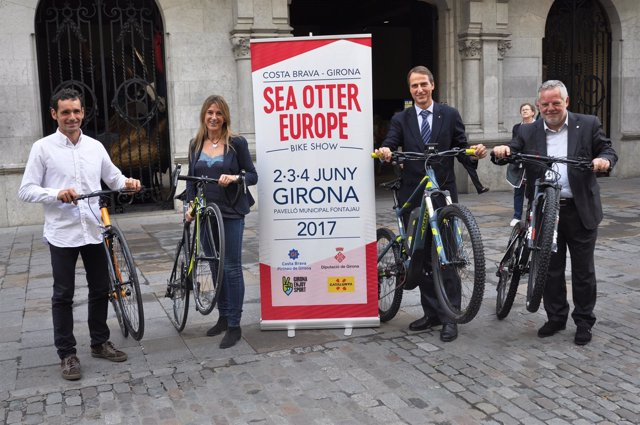 Presentación del festival Sea Otter Europe en Girona