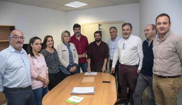 Reunión del Plan de Empleo en el Centro de Empresas