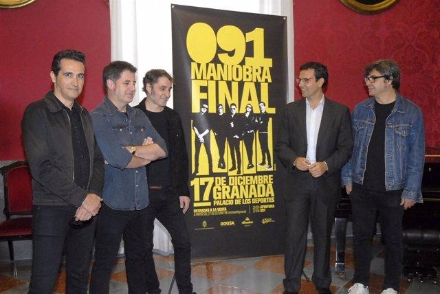 Francisco Cuenca con la banda granadina 091