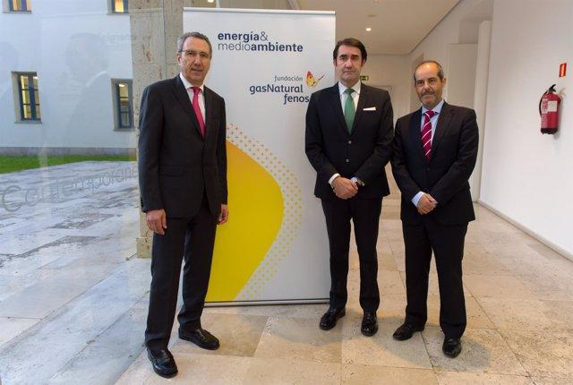 Suárez-Quiñones, en la inauguración de la jornada sobre energía.