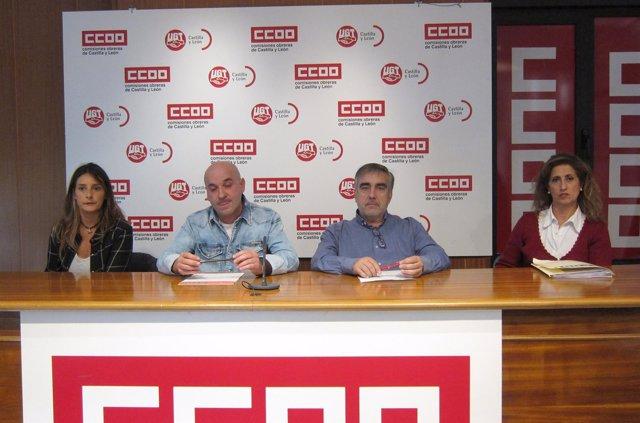 UGT y CCOO ofrecen una rueda de prensa sobre hostelería