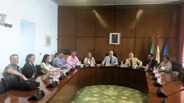 Reunión de la comisión de investigación parlamentaria sobre la formación