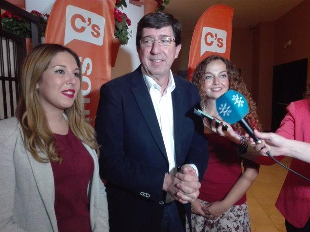 Juan Marín atiende hoy a los medios