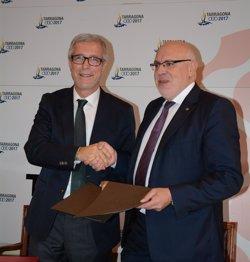 Els XVIII Jocs del Mediterrani volen potenciar el comerç local (GENCAT)