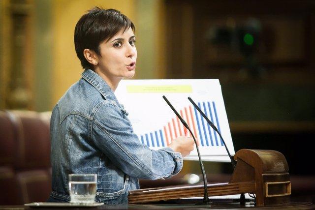 Isabel Rodríguez, portavoz adjunta del PSOE en el Congreso