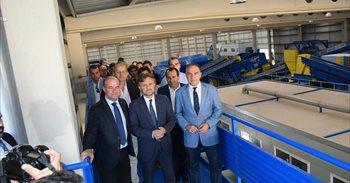 Antequera inaugura una planta de tratamiento de residuos sólidos urbanos