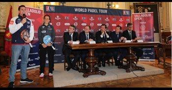 """El World Padel Tour continuará en Valladolid al menos en 2017 y 2018, """"de..."""