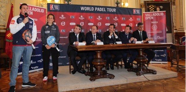 Valladolid acogerá el World Pádel Tour
