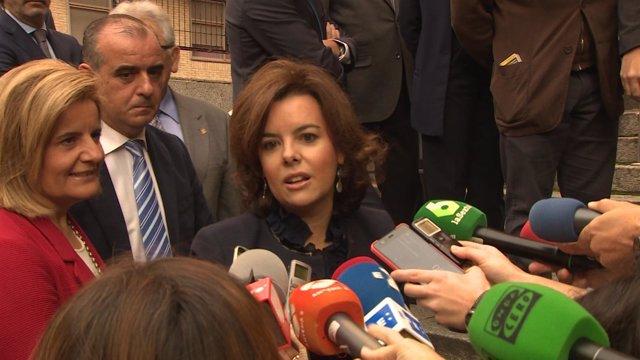 """Santamaría a Podemos: """"No pueden estar dentro y fuera"""""""