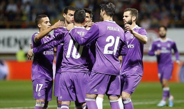 El Real Madrid vence a la Cultural en la Copa del Rey