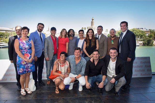 Presentación de los 'Premios Radiolé 2016'