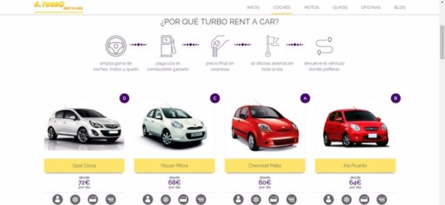 Estudio sobre el alquiler de coches en Ibiza