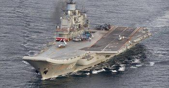 """Rusia ve """"infundada"""" la preocupación de la OTAN por su portaaeronaves en..."""