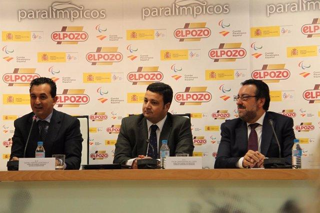 Rafael Fuentes, Miguel Carballeda y Óscar Graefenhain, en una foto de archivo