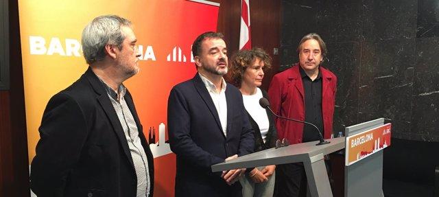 Grupo municipal de ERC en el Ayuntamiento