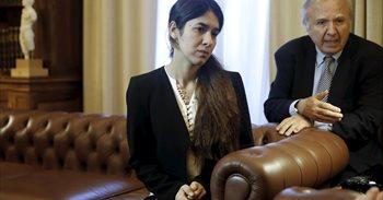 La Eurocámara premia a dos yazidíes víctimas del Estado Islámico con el...