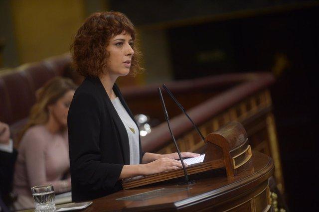 Alexandra Fernández, En Marea, investidura de Rajoy
