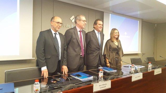 Jordi Vila, José Alberto Carbonell, Sixte Cambra y Núria Burguera