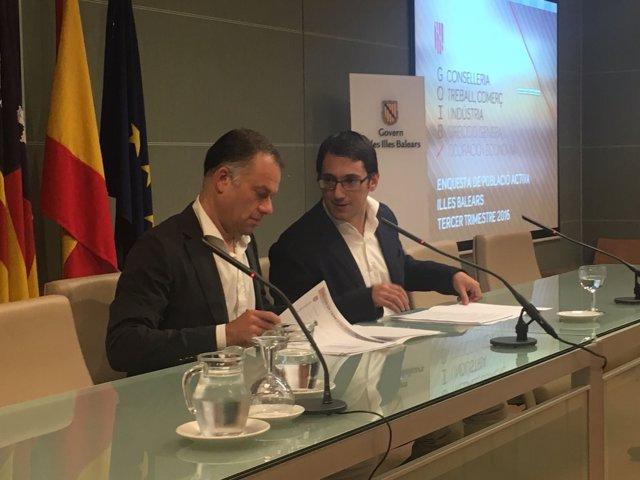El conseller de Trabajo, Industria y Comercio, Iago Negueruela