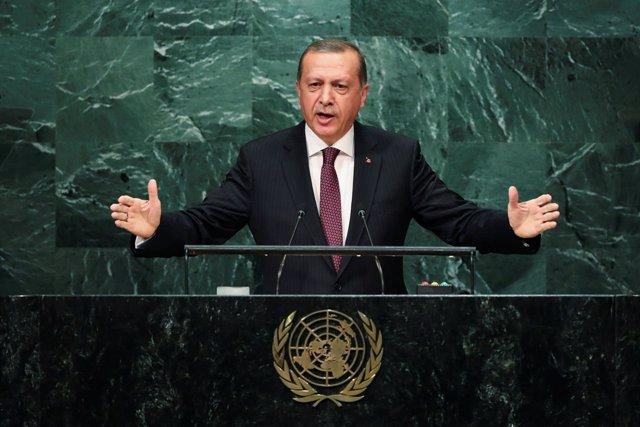 Erdogan habla ante la Asamblea General de la ONU