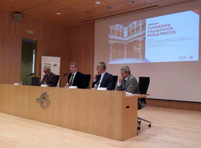 Miguel Casaus, Sebastián Celaya, Juan Carlos Sánchez y Emilio González.
